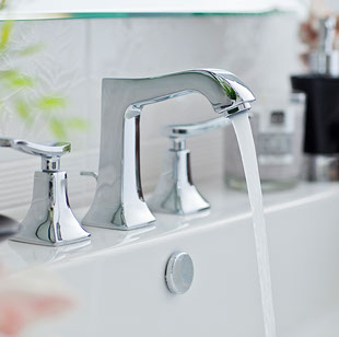 Stylish faucet for Seascape at Weyouth units